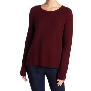 Madewell Riverside Textured pullover sweater xs